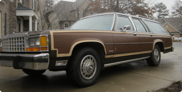 Our Truckster started as a 1984 Ford LTD Country Squire.