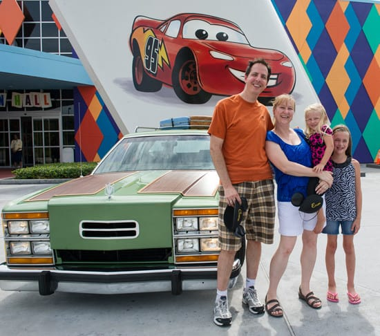 Griswold Vacation Walt Disney World Road Trip in Truckster