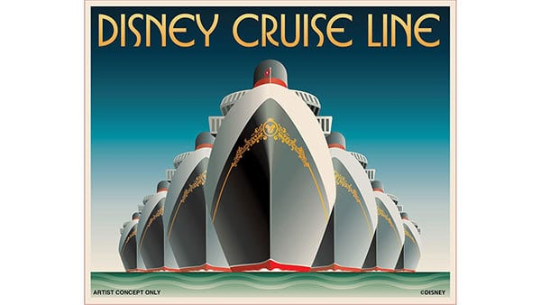 7 ships at Disney Cruise Line