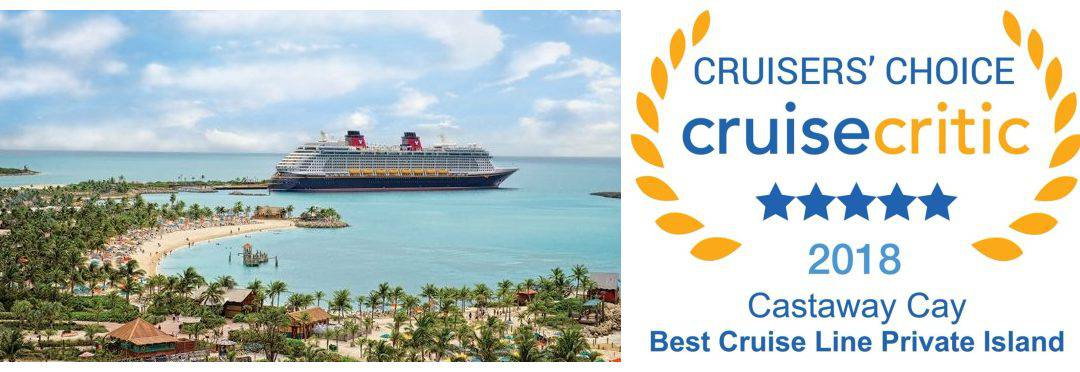 Cruise Critic Names Castaway Cay The Best Line Private Island