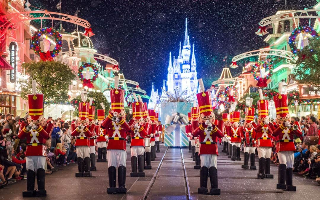 Disney World Christmas vacation package