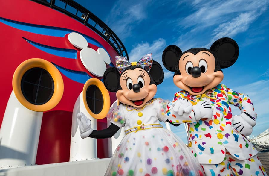 Celebrate Your Favorite Mouse with Mickey & Minnie's Surprise Party at Sea Aboard Disney Cruise Line
