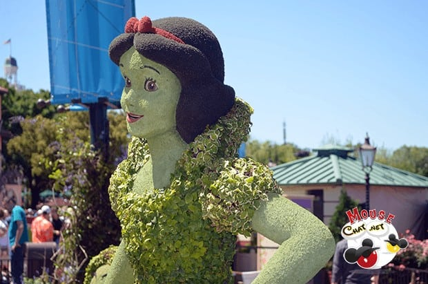 Epcot's Flower and garden event March - June