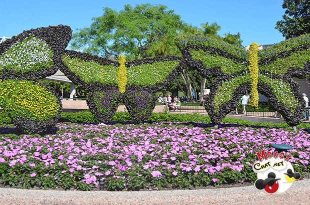 Flower and Garden Festival crowds in May at Disney