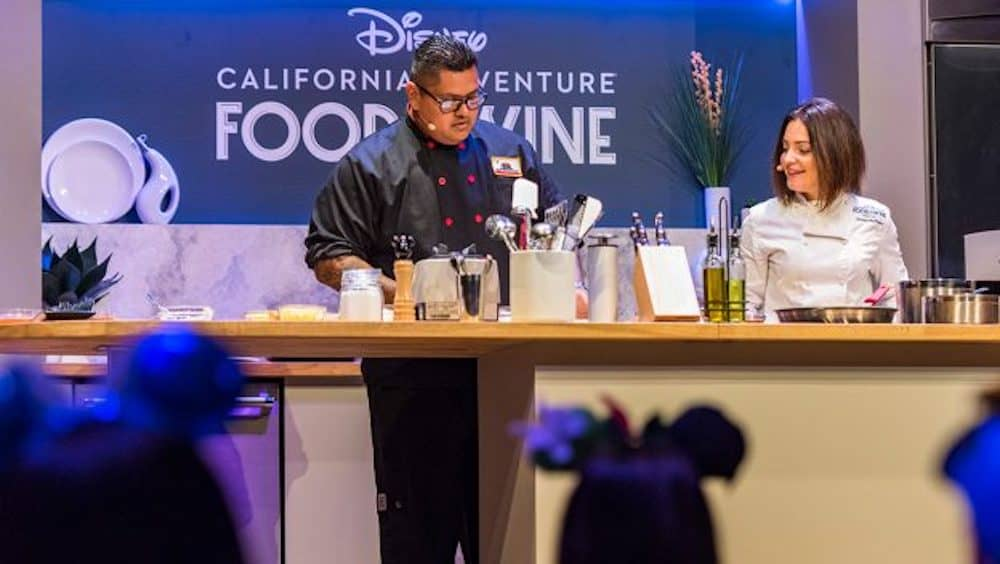Disney California Adventure Food & Wine Signature Events