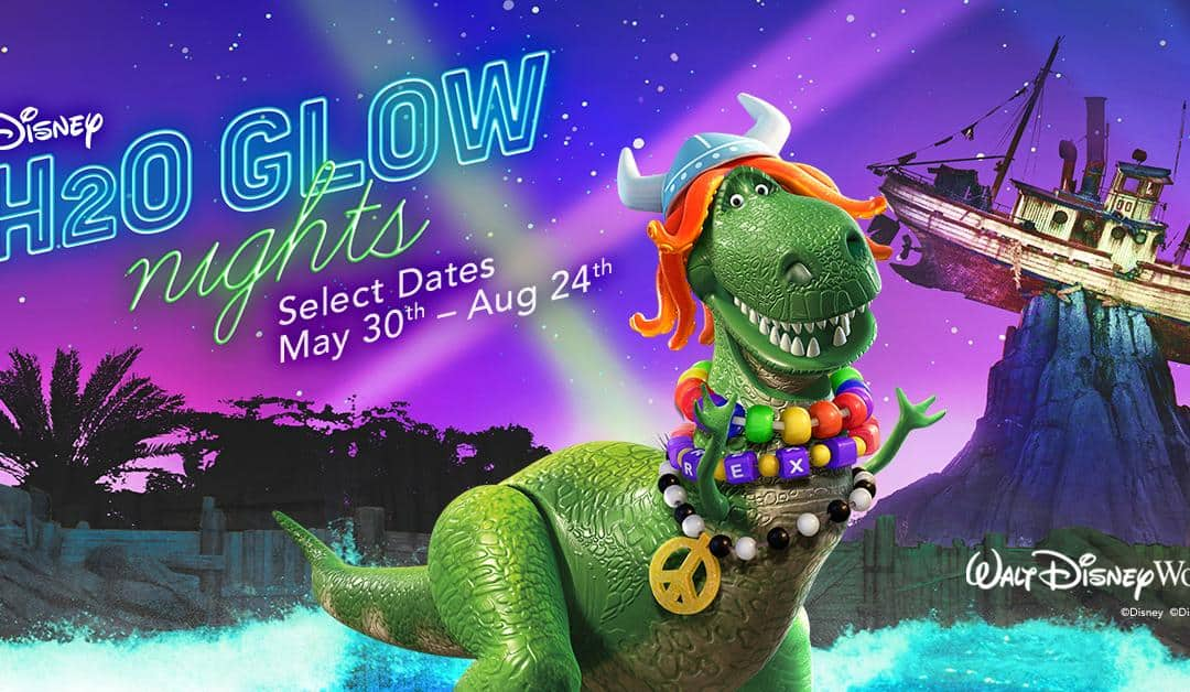 Tickets On Sale Now for Disney H2O Glow at Disney's Typhoon Lagoon