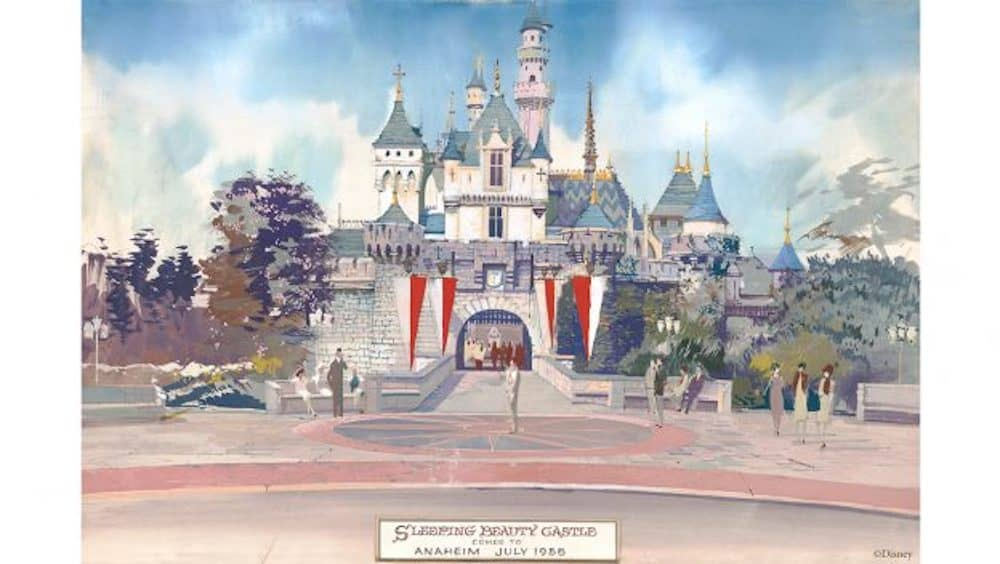 Disneyland Sleeping Beauty 60 year celebration