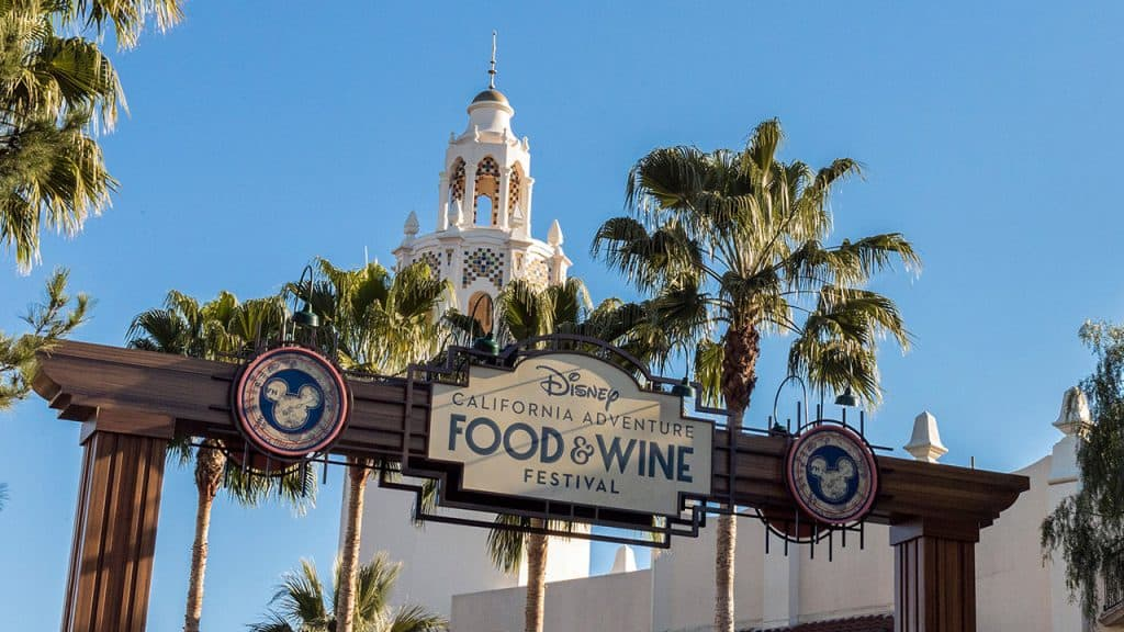 2019 Disney California Adventure Food & Wine Festival