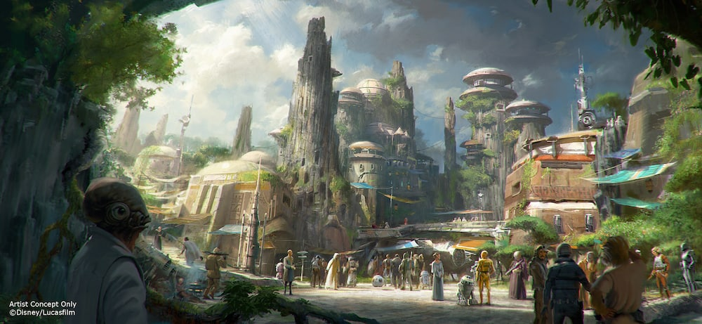 Reservations to Visit Star Wars: Galaxy's Edge at Disneyland Park will be Available May 2