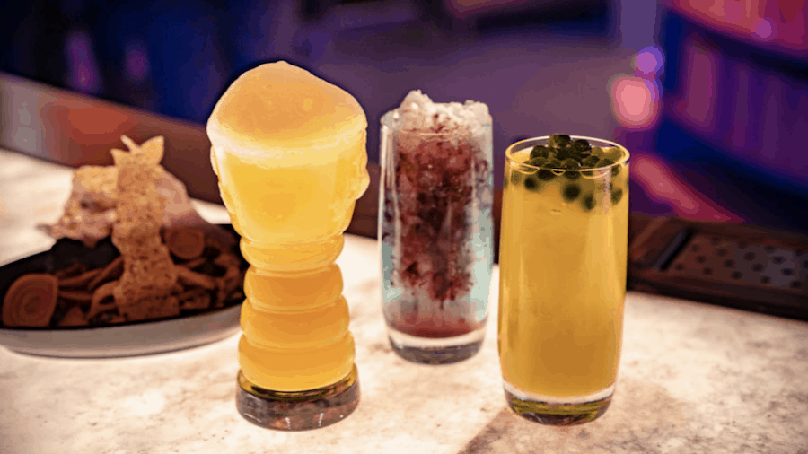 star wars land cantina drink menu