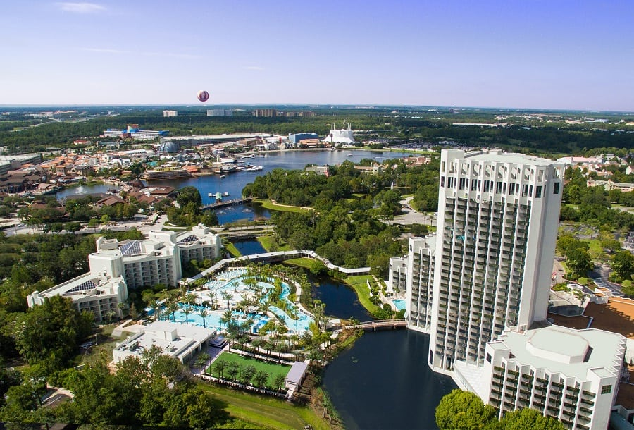 Disney Springs Hotels to save money