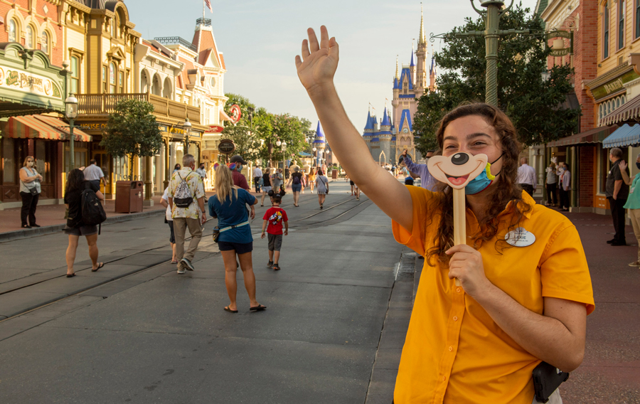 Disney World Magic Kingdom is open