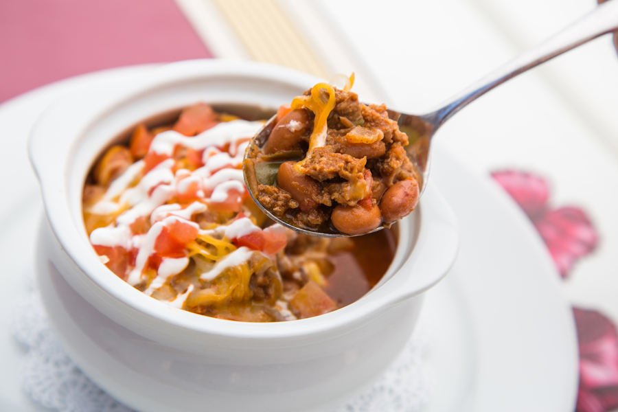Walt's Chili and Beans from Carnation Café Recipe