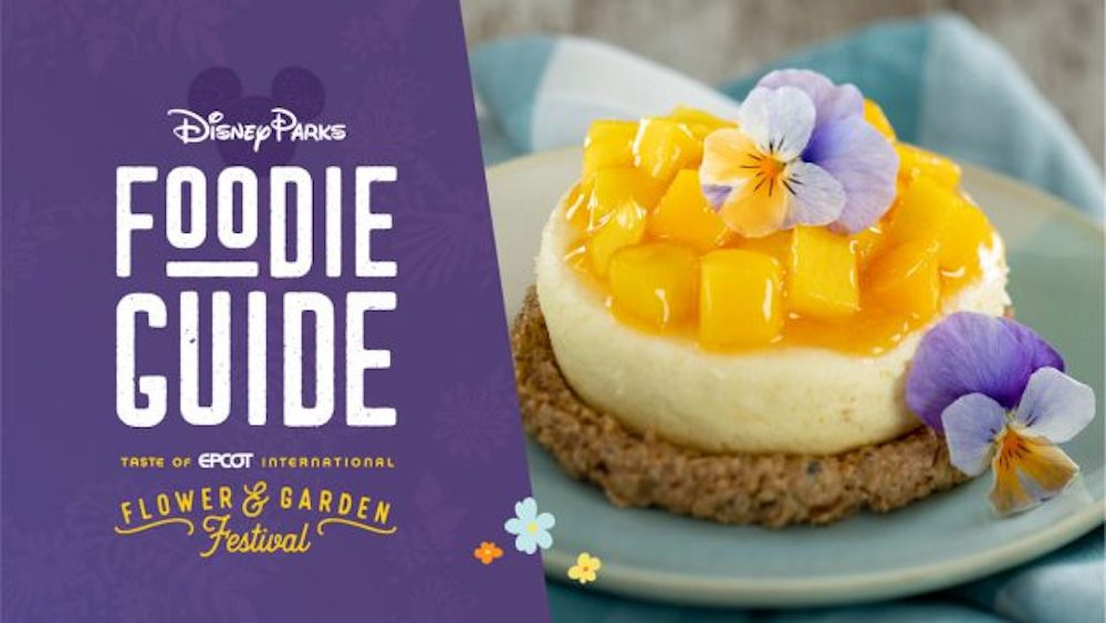 2021 Taste of EPCOT International Flower & Garden Festival Menu