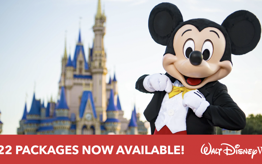 2022Walt Disney World vacation packagesare now available to book!