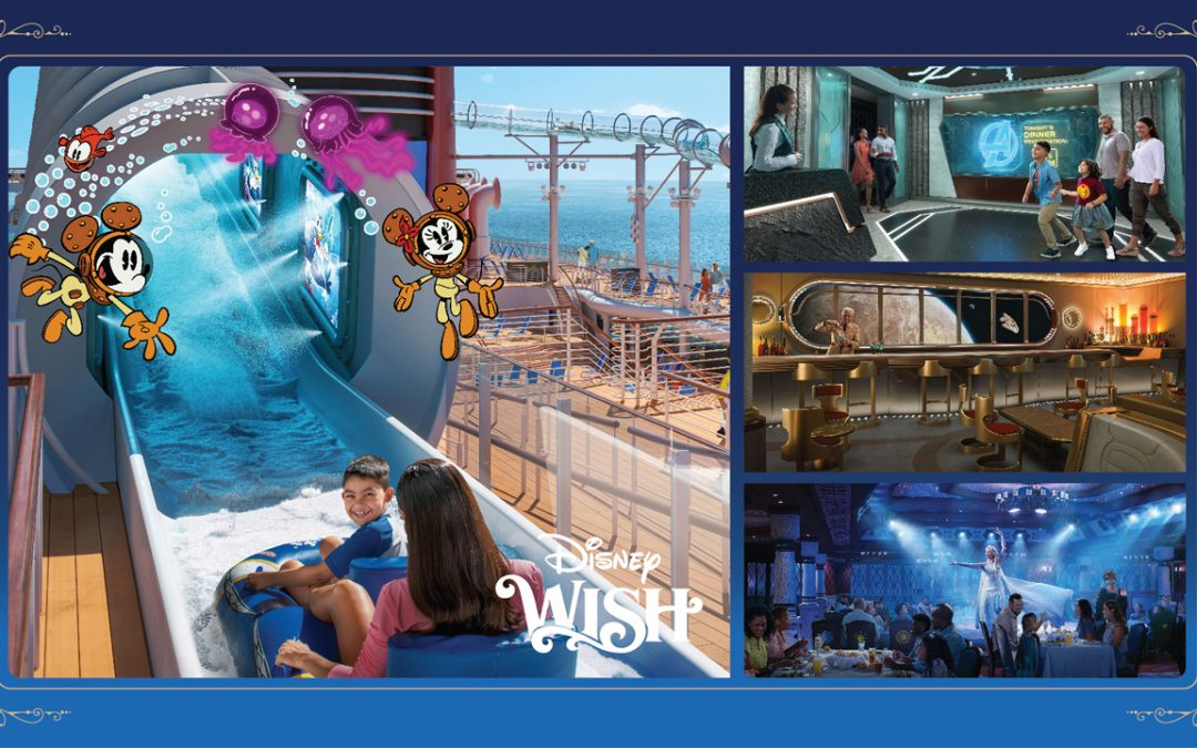 The Disney Wish Family Vacations Set Sail in Summer 2022