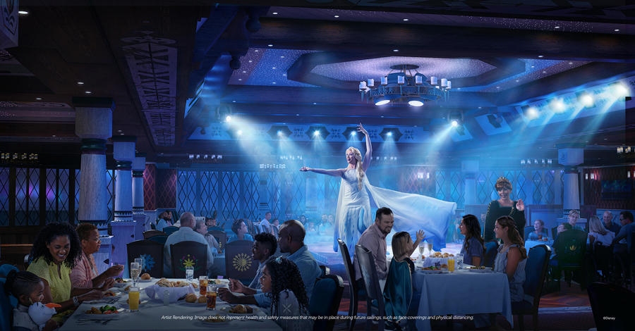 Arendelle: A Frozen Dining Adventure