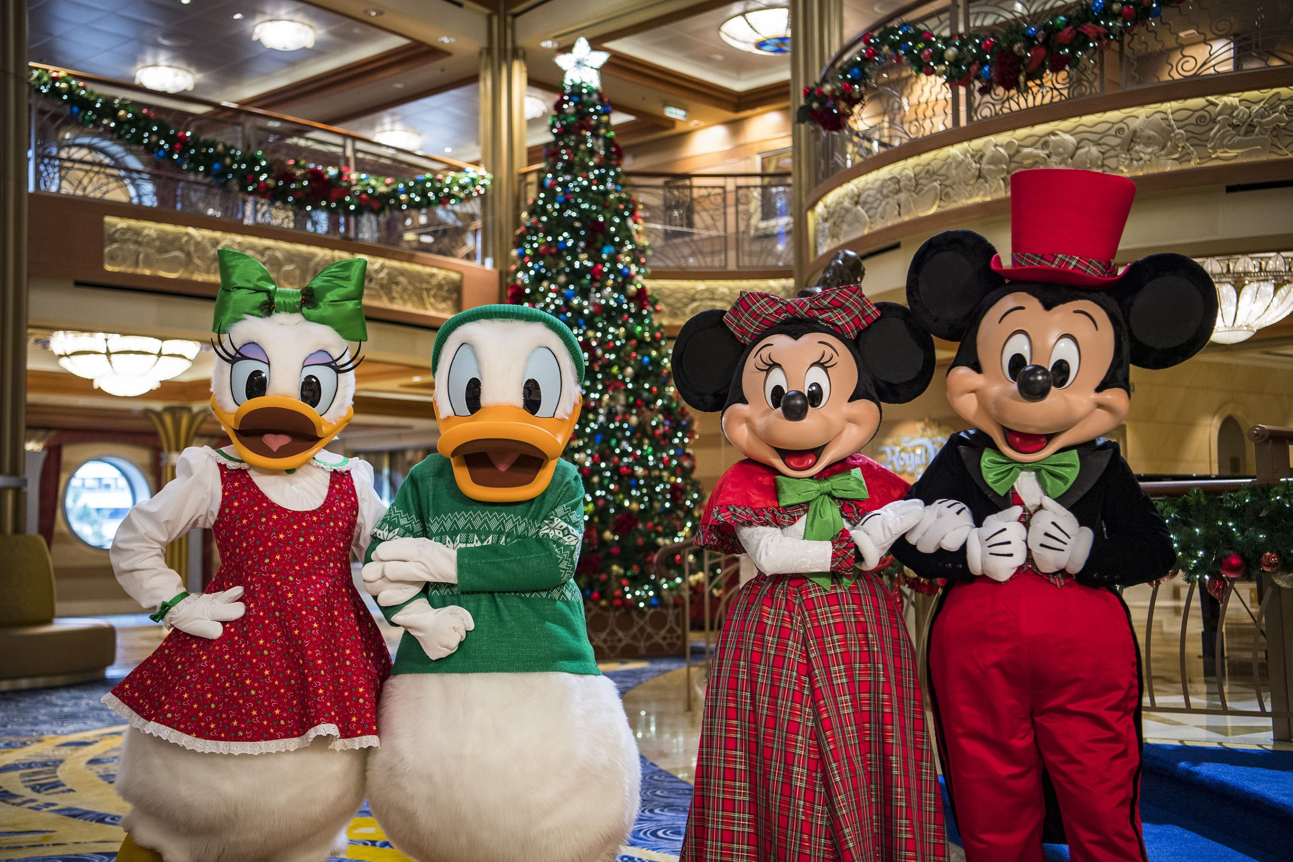 Disney Cruise Line Holidays Characters