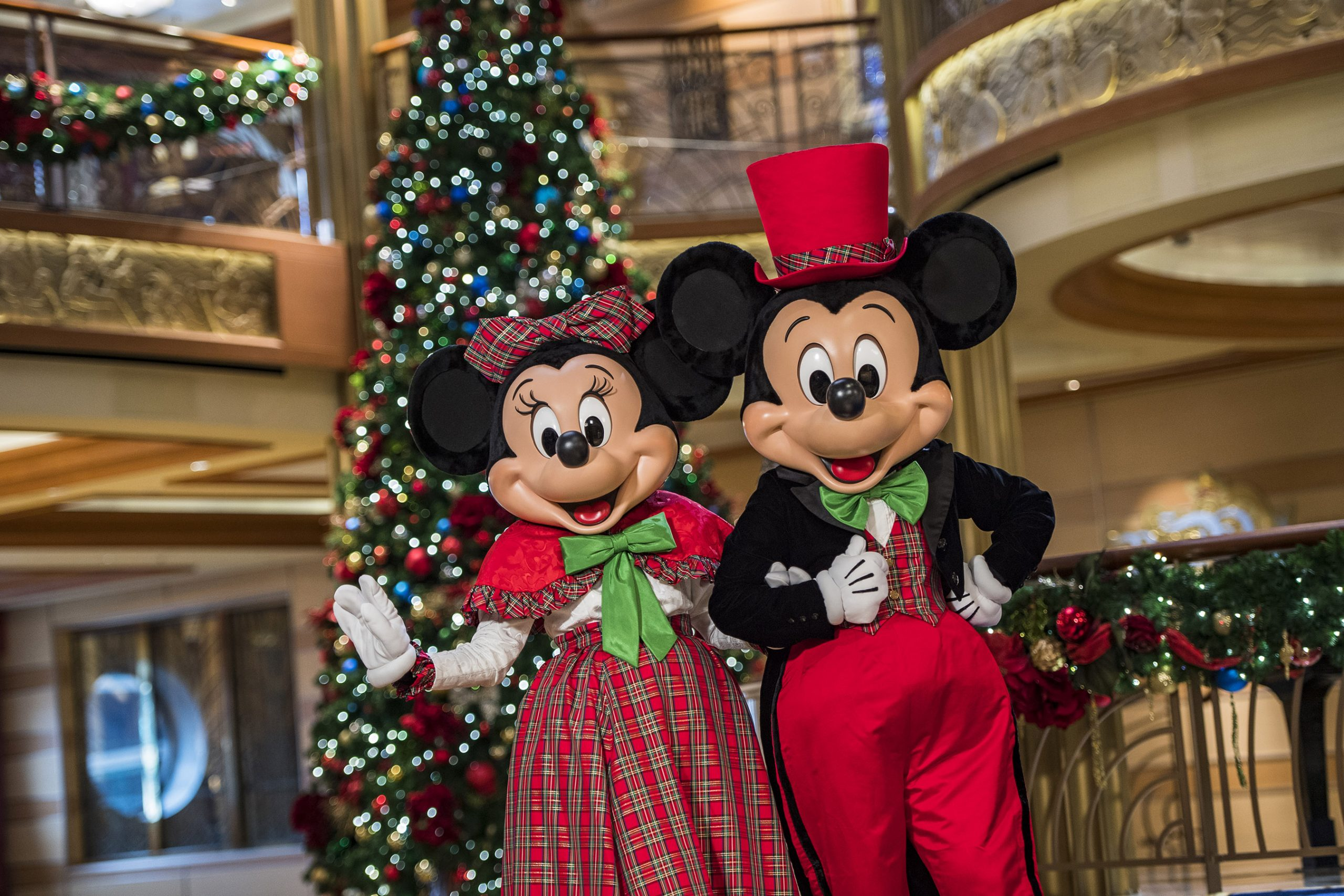 Disney Cruise Line Mickey and Monnie Holiday Dress