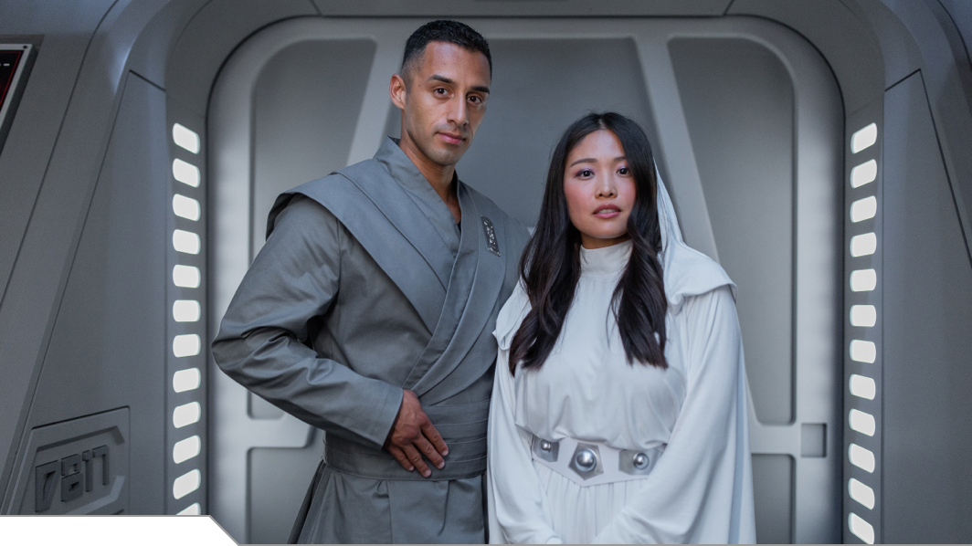 Star Wars Costumes and Gala events