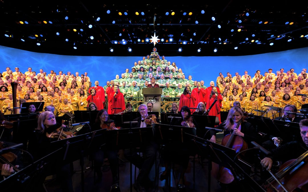 Candlelight Processional Returns Nov. 26 for the EPCOT International Festival of the Holidays