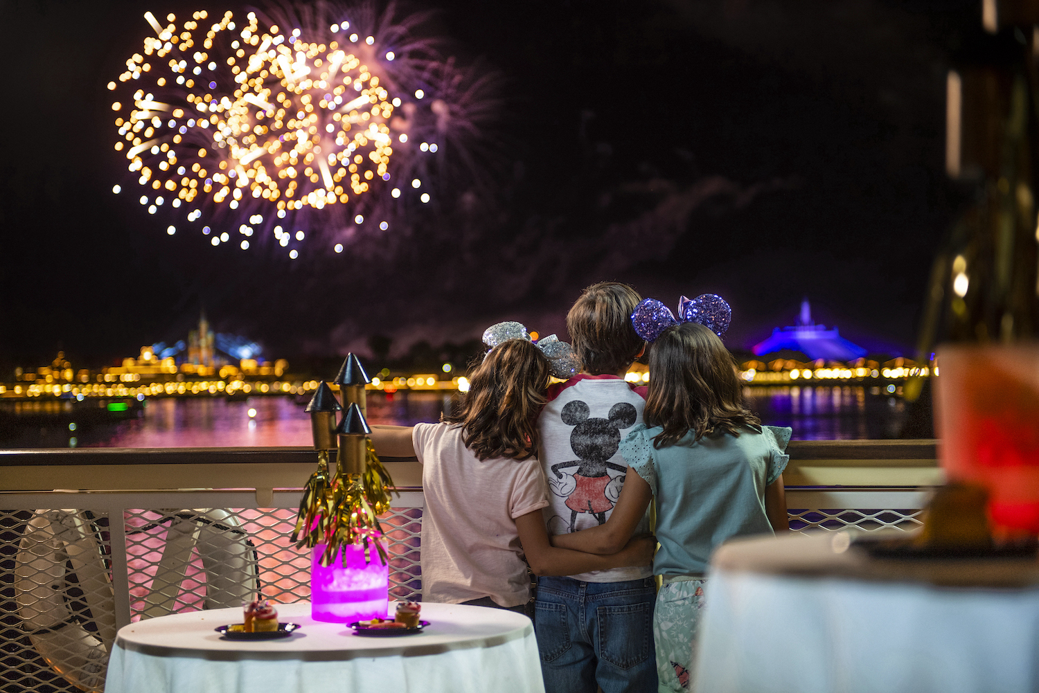 Epcot Rose and Crown Fireworks package