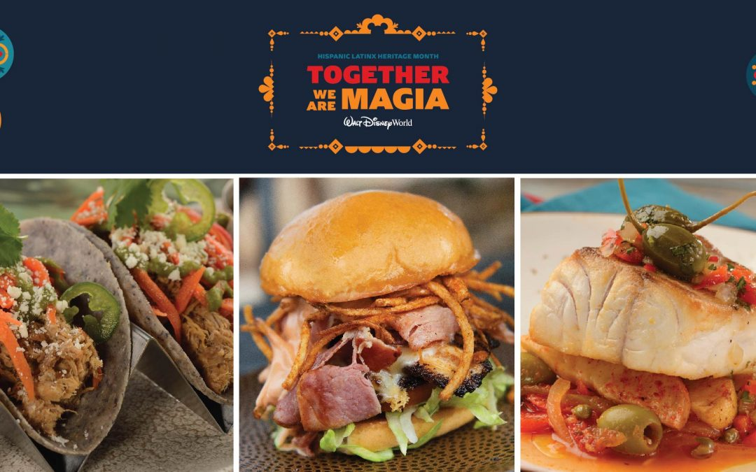 Celebrate Delicious Food and Drink at Walt Disney World Resort