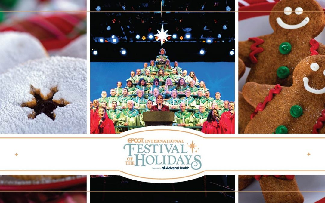 Celebrity Narrators Return to Candlelight Processional Along with Other Joyous Traditions During EPCOT International Festival of the Holidays
